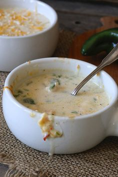 Chile Relleno Chicken Soup. This is a must make low-carb soup, creamy, velvety, with roasted poblanos, chicken and cheese.