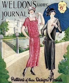 Weldons Ladies Journal Patterns