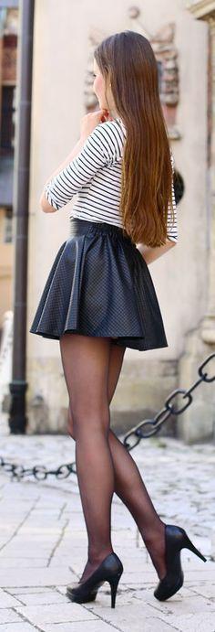 Little Black Skirt Streetstyle