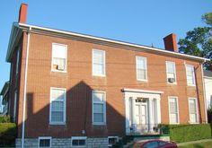 Johnston-Jacobs House in Scott County, Kentucky.