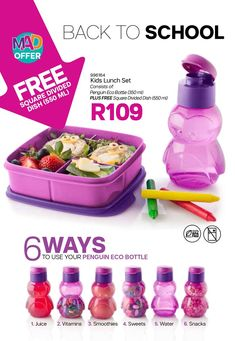 View the Tupperware catalogue in ☑️. Check out the best prices for Bowl, Knife, Jug at Tupperware here! Tupperware, School Lunch, Smoothies, Catalog, Vitamins, Sweets, Snacks, Dishes, Children