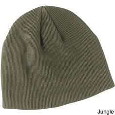 f76863fd081 Feel good about wearing this classic solid-colored knit beanie crafted of  organic cotton grown