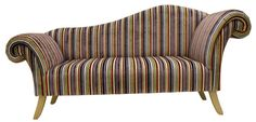 Willow Stripe Chaise Longue by CuckooHomeInteriors on Etsy