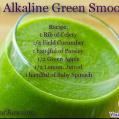 Great green smoothie recipe!