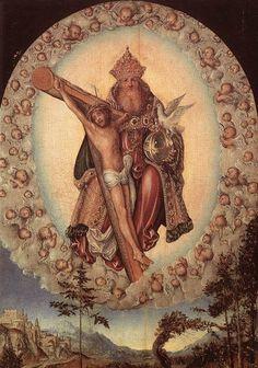 Trinity - Lucas Cranach, the Elder 1515-1518