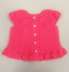 [Toplam: 2 Ortalama: baby vest modelsis one of the most knitted baby clothes. Baby vest samples very preferred The reason for this is that Knitted Baby Clothes, Baby Vest, Knit Vest, Handmade Clothes, Baby Knitting, Knit Crochet, Rompers, One Piece, Stylish