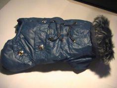 Vëtements Chien / Dog Coat leather imitation