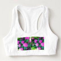 Women's Alo Sports Bra Fresh Flowers Florals gift
