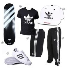 Adidas from head to toe! We got you covered at DrJays.com!