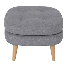 Buy the Slate 1958 Footstool at Oliver Bonas. We deliver Furniture throughout the UK within working days from Office Storage Furniture, Furniture Sale, Discount Furniture, Classic Home Furniture, Mid Century Modern Furniture, Wooden Pallet Furniture, Diy Outdoor Furniture, Colorful Furniture, Unique Furniture
