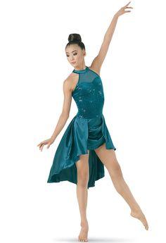 Sequin Plush Charmeuse Dress