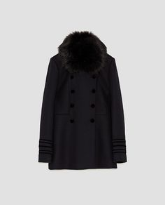 Alexa Chung, Faux Fur Collar, Fur Collars, Types Of Jackets, Jackets For Women, Women's Jackets, Chunky Knit Jumper, Military Style Jackets, Jumpers For Women