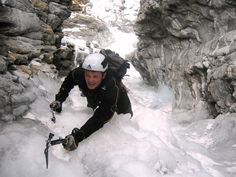 A lot of Action in the #Ahrntal Valley in #Southtyrol. Ice climbing is one of the famous sports here.