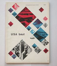 exhibition about modern architecture | catalogue cover | max bill (1908-1994)