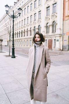 Perfect winter street style