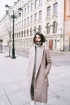 Perfect winter street style