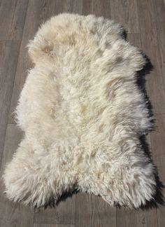 schapenvacht 1621 ruige vacht naturel 115 x 80cm