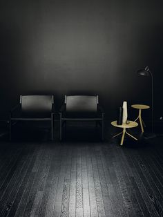 """Dark Interior"" by http://www.leuchtend-grau.de/  Kerakoll Design House"