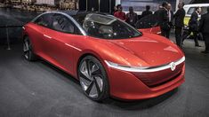 From Volkswagen, Without Paddle, Without Paddle Autonomous Vehicle! Volkswagen released the render images of the vehicle without the pedals, without the steering wheel. It will take about 12 years to get a fully autonomous 'ID Vizzion' car.
