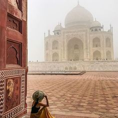 TAJ MAHAL, INDIA #TajMahal - #India Credit: @marinacomes  Chosen by: @la_gomme
