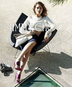 Cat McNeil | Jimmy Choo F/W 2014 Campaign #style #fashion