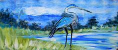 """New Painting by Ernest Lee """"The Chicken Man"""" www.ernestleetees.com Live In The Now, Outsider Art, Bird Art, Folk Art, The Outsiders, Street Art, South Carolina, Beach House, Nature"""
