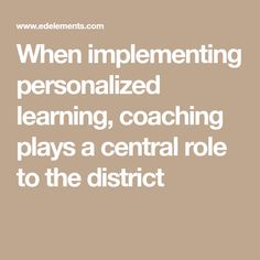 title what does personalised learning mean Summit learning is a personalized approach to teaching and learning inspired by summit public schools' mission to help every student lead a fulfilled life.