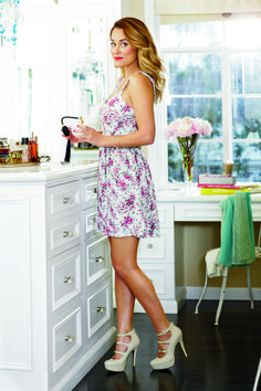 Chic Peek: My Kohl's Spring Collection . Love this trend and floral print dress