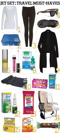 Jet Set: Travel Must-Haves