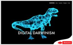 Software is eating the world. Accelerated change is the only constant. It's digital darwinism out there. It's adapt or die!