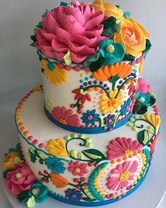 The White Flower Cake Shoppe ( Pretty Cakes, Cute Cakes, Beautiful Cakes, Amazing Cakes, Cake Cookies, Cupcake Cakes, White Flower Cake Shoppe, Mexican Birthday, Birthday Kids
