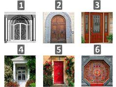 Тест личности: выбери свою дверь. Тест поможет определить тип вашей личности и раскроет секреты выраженных черт характера.