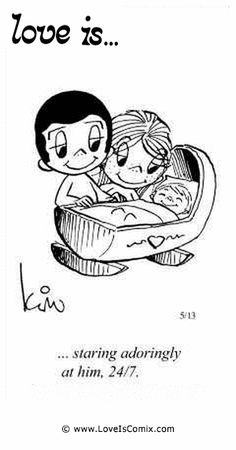 Love is. staring adoringly at him, Love Is Cartoon, Love Is Comic, Love My Husband Quotes, Best Love Quotes, Beautiful Love, Cute Love, Comfort Quotes, Love Only, Finding True Love