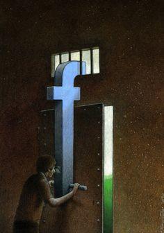 Facebook makes that people hide