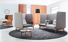 Acoustic panels, screens and tiles - Commercial Interior products - The Collective Sustainable Furniture, Modular Furniture, Home Furniture, Furniture Design, Office Furniture, Furniture Ideas, Outdoor Furniture, Sofa Design, Canapé Design