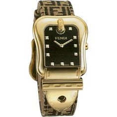 FENDI  Fendi Zucca with Diamond Watch  Fendi Zucca Ladies Watch with Diamond!     Band length: 195mm.  Dimensions: 30mm W x 30mm H.  Quartz movement.  Water-resistant to 3 ATM (30 meters).  FENDI Made in Switzerland.   Full Fendi warranty for 2 years.     $1,195    http://www.yslux.com/product.aspx?pf_id=YSFEN009