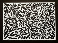 paper cutting pattern - Buscar con Google
