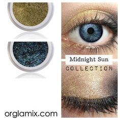 Midnight Sun Collection - Mineral Makeup | Natural Mineral Cosmetics | Vegan + Cruelty Free | ORGLAMIX.COM