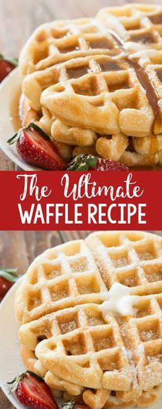 We tested over 100 waffles and this is the best buttermilk recipe out there! The… We tested over 100 waffles and this is the best buttermilk recipe out there! The ultimate waffle recipe and it's all thanks to a few simple secrets. Breakfast And Brunch, Breakfast Dishes, Breakfast Recipes, Southern Breakfast, Brunch Recipes, Brunch Foods, Breakfast Waffles, Mexican Breakfast, Crepe Recipes