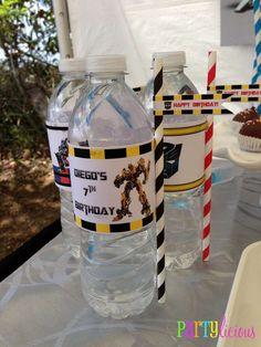 Partylicious E's Birthday / Transformers - Photo Gallery at Catch My Party Transformers Birthday Parties, 6th Birthday Parties, Boy Birthday, Birthday Cake, Birthday Ideas, Rescue Bots Birthday, Transformer Birthday, Ideas Para Organizar, Superhero Party