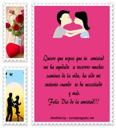 mensajes del dia del amor y la amistad para compartir por Whatsapp,enviar tarjetas del dia del amor y la amistad por whatsapp: http://www.consejosgratis.net/mensajes-para-el-dia-del-amor/