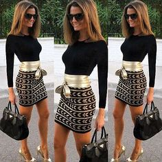 Women Long Sleeve Bodycon Bandage Mini Dress Office Ladies Fashion Vestidos Casual Slim Fit Club Dress-in Dresses from Women's Clothing on AliExpress Fashion Vestidos, Vestidos Sexy, Dress Vestidos, Mini Vestidos, Fashion Dresses, Club Dresses, Sexy Dresses, Mini Dresses, Tall Dresses