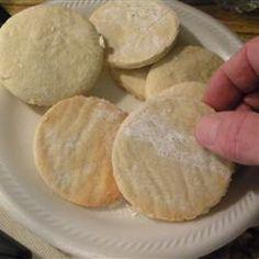 Portuguese Sugar Cookies