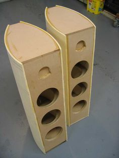 Post with 61 votes and 24287 views. Shared by Speaker Build Custom Speaker Boxes, Speaker Box Design, Homemade Speakers, Diy Boombox, Car Audio Installation, Subwoofer Box Design, Speaker Plans, Audiophile Speakers, Tower Design