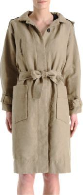 J'adore Etoile Isabel Marant Malky Hooded Trench!    #isabelmarant