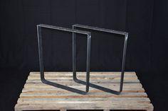 Flat Steel Table Legs, Kitchen Table Legs, Powder Coated SET of 2 Hight cm Iron Table Legs, Steel Table Legs, Steel Dining Table, Coffee Table Legs, Dining Table Legs, Table Bench, Desk Legs, Bench Legs, Kitchen Table Legs