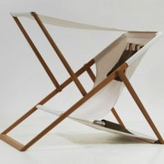XZ Beach Chair with removable sunshade by Numen