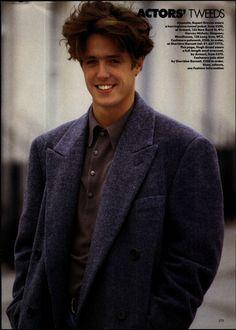 Hugh Grant Vogue 1987