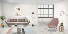 Neybers, Home Decoration, Fritz Hansen, FAVN  Sofa