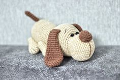 Crochet Animal Patterns, Crochet Patterns Amigurumi, Amigurumi Doll, Crochet Animals, Crochet Dolls, Crochet Bunny, Cute Crochet, Tutorial Amigurumi, Dogs And Kids